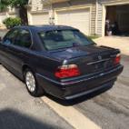2001 BMW 7 Series 740i