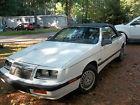 1989 Chrysler Le Baron LIMITED