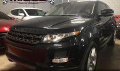 2012 Land Rover Range Rover Evoque Coupe Pure