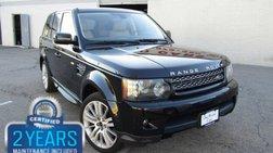 2012 Land Rover Range Rover Sport HSE LUX