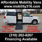 2019 Dodge Caravan Wheelchair Handicap Mobility Handicapped Van Ramp