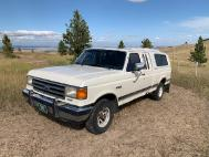 1991 Ford F-150 SuperCab Long Bed 4WD