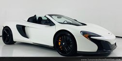 2015 McLaren 650S Base 2dr Convertible