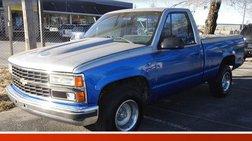 1991 Chevrolet C/K 1500 Reg. Cab Sportside 2WD