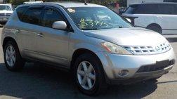 2003 Nissan Murano 4dr SE AWD V6 CVT Auto w/o Options