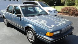 1990 Buick Century 4dr Sedan Custom